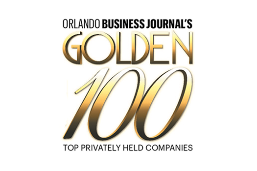 2017 96th Golden 100 Top Privately Held Company in Central Florida